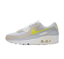 Nike Women's Air Max 90 White/Lemon Venom-Pure Platinum