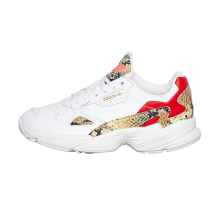 Adidas Women's Falcon Cloud White/Scarlet-Gold Metallic