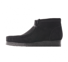 Clarks Wallabee Boot Black Suede