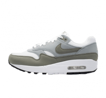 Nike Women's Air Max 1 White/Dark Stucco-Light Pumice