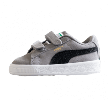 Puma Suede Classic V Infant Charcoal Gray/Puma Black