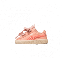 Puma Basket Heart Jelly FS Infant Peach Bud/Bright Peach