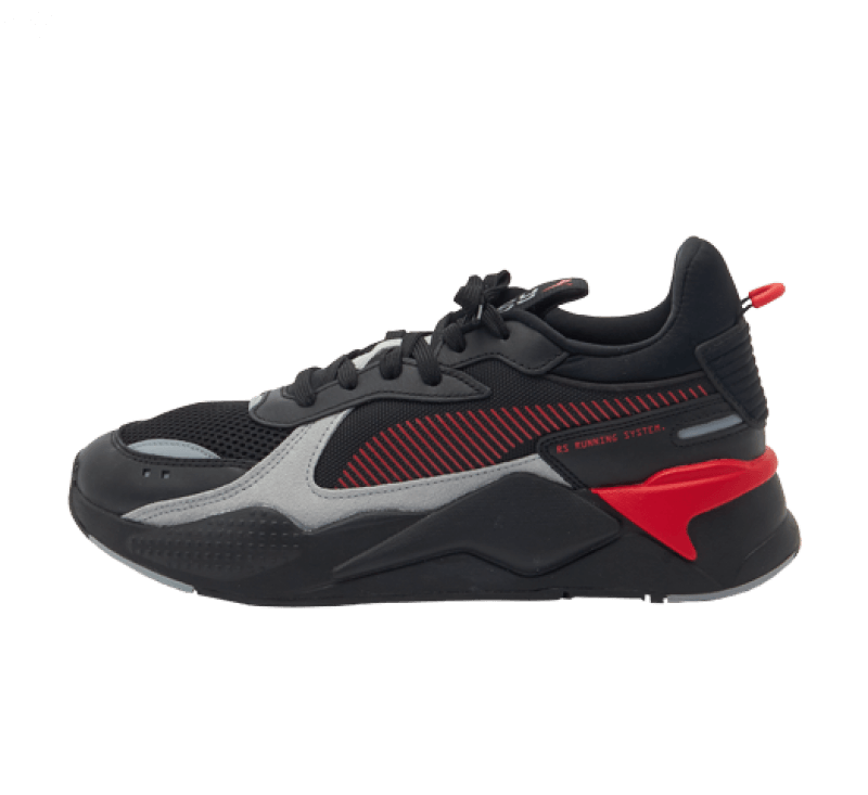 Puma RS-X Reinvention Black / High Risk Red