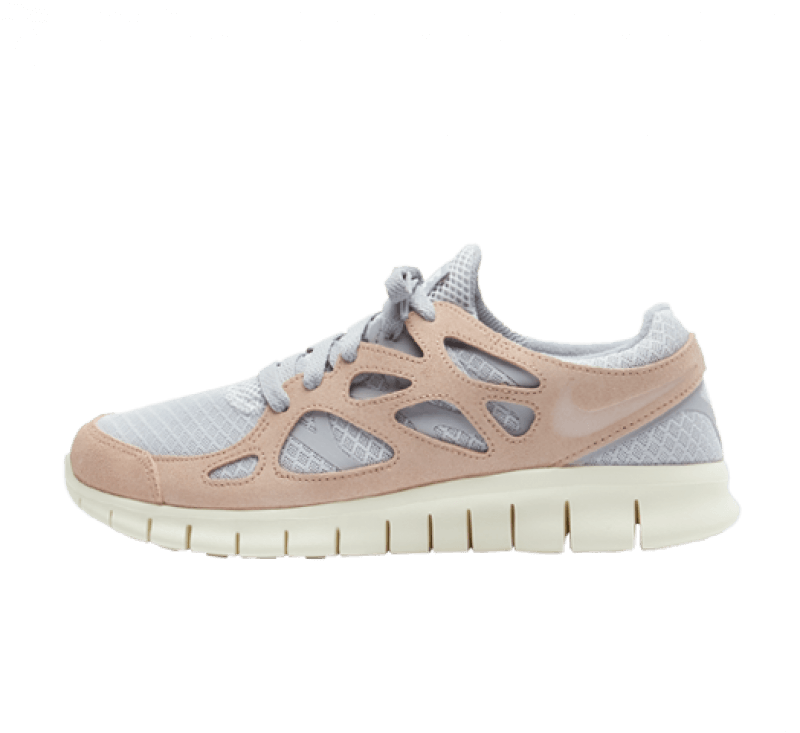 Nike Free Run 2 Pure Platinum / Fossil Stone