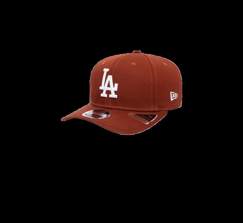 New Era League Essential 9Fifty LA Dodgers Snapback Rust