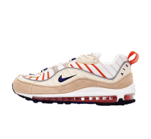640744 603 Nike Air Max 98 Team RedGreen StrikeWolf Grey