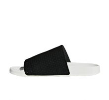 Adidas Women's Adilette Luxe Core Black/Off White