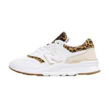 New Balance Women's CW997HCJ White/Leopard-Gum Sole