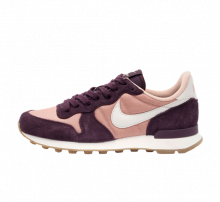 Nike Women's Internationalist Particle Pink/Light Bone-Port Wine