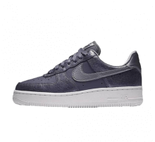 Nike Women's Air Force 1 '07 Premium Light Carbon/Metallic Cool Grey
