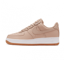 Nike Women's Air Force 1 '07 Premium Bio Beige/Metallic Silver