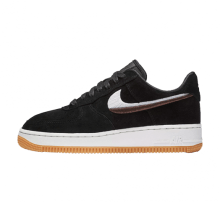 Nike Women's Air Force 1 '07 LX Black/Gum Yellow-Summit White