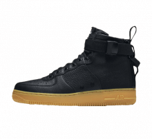 Nike SF Air Force 1 Mid Black/Gum
