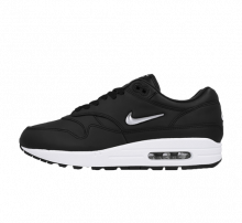 Nike Air Max 1 Premium SC Black/Metallic Silver-White