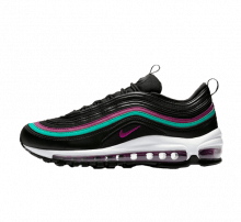 Nike Women's Air Max 97 Black/Bright Grape-Clear Emerald