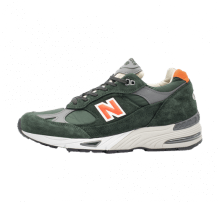 New Balance M991TNF Green/Orange