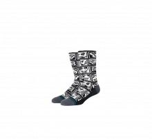 Stance 1985 Haring Socks Black