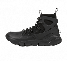 Nike Women's Air Footscape Mid Black/Summit White