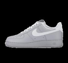 Nike Air Force 1' 07 Wolf Grey/White-Dark Grey-Game Royal