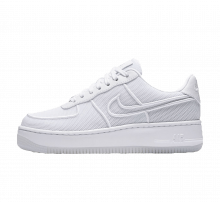 Nike WMNS Air Force 1 Low Upstep BR White/Glacier Blue