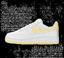 Nike Women's Air Force 1 '07 White/Bicycle Yellow-White