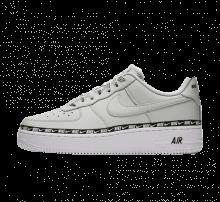 Nike Women's Air Force 1 '07 SE Premium Light Silver/Black-White