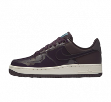 Nike Women's Air Force 1 SE Premium Port Wine/Space Blue