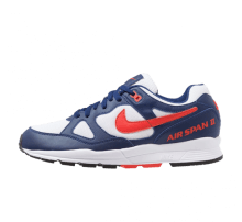 Nike Air Span II Blue Void/Habanero Red-White-Black