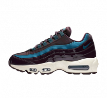 Nike Women's Air Max 95 Special Edition Premium Port Wine/Special Blue