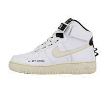 Nike Women's Air Force 1 Hi UT White/Light Cream-Black-White