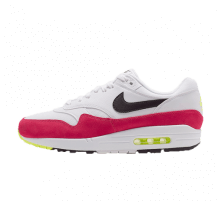 Nike Air Max 1 White/Black Volt-Pink Rush
