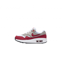 Nike Air Max 1 QS (ps) White/University Red-Neutral Grey-Black