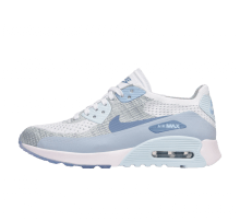 Nike WMNS Air Max 90 Ultra 2.0 Flyknit White/LT Armory Blue