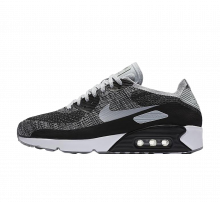Nike Air Max 90 Ultra 2.0 Flyknit Black/Wolf Grey-Dark Grey