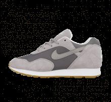 Nike Women's Outburst Gunsmoke/Atmosphere Grey-White