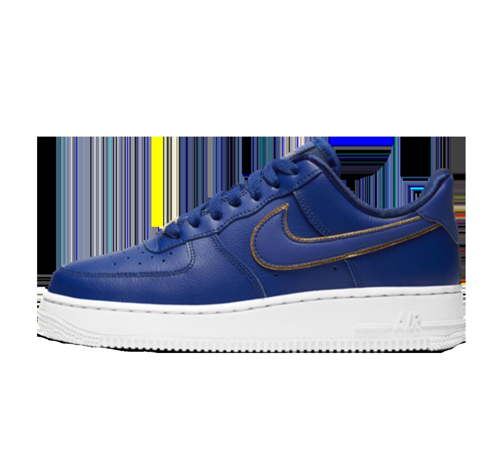 heiß Nike Air Force 1 '07 Essential Deep Royal BlueWhite im
