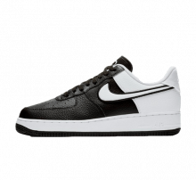 new concept ac174 53460 Nike Air Force 1  07 LV8 1 Black White