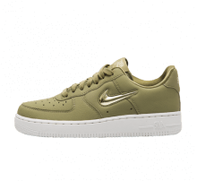 Nike Women's Air Force 1 '07 Premium LX Neutral Olive/Metallic Gold Star