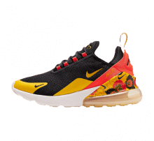 Nike Women's Air Max 270 SE Black/University Gold-Bright Crimson