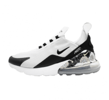 Nike Women's Air Max 270 SE White/Black-Metallic Silver