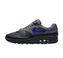 Nike Air Max 1 Dark Grey/Fierce Purple-Black