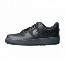 Nike Air Force 1 '07 Black/Racer Blue