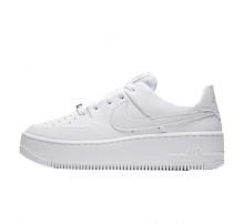 Nike Women's Air Force 1 Sage Low White/White-White
