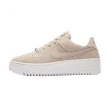 Nike Women's Air Force 1 Sage Low Particle Beige/Phantom