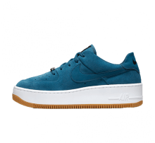 Nike Women's Air Force 1 Sage Low Blue Force/Black-White