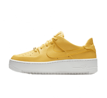Nike Women's Air Force 1 Sage Low Topaz Gold/White