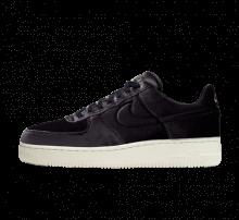 Nike Air Force 1 '07 Premium Velvet Black/Sail-Metallic Gold