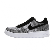 Nike Air Force Flyknit 2.0 Black/Pure Platinum-White