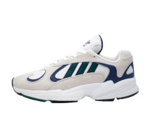 Adidas Yung-1  Footwear White/Noble Green-Dark Blue
