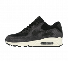 Nike WMNS Air Max 90 PRM Black/Sail-Dark Grey